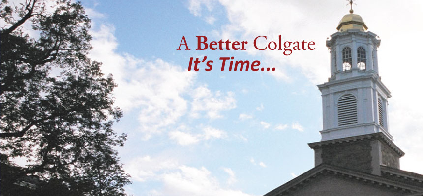 It's time for reform at Colgate University