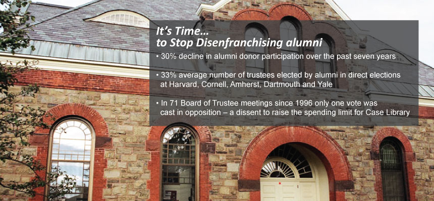 It's Time to Stop Disenfranchising Alumni